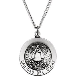 Caridad del Cobre Medal Necklace or Pendant
